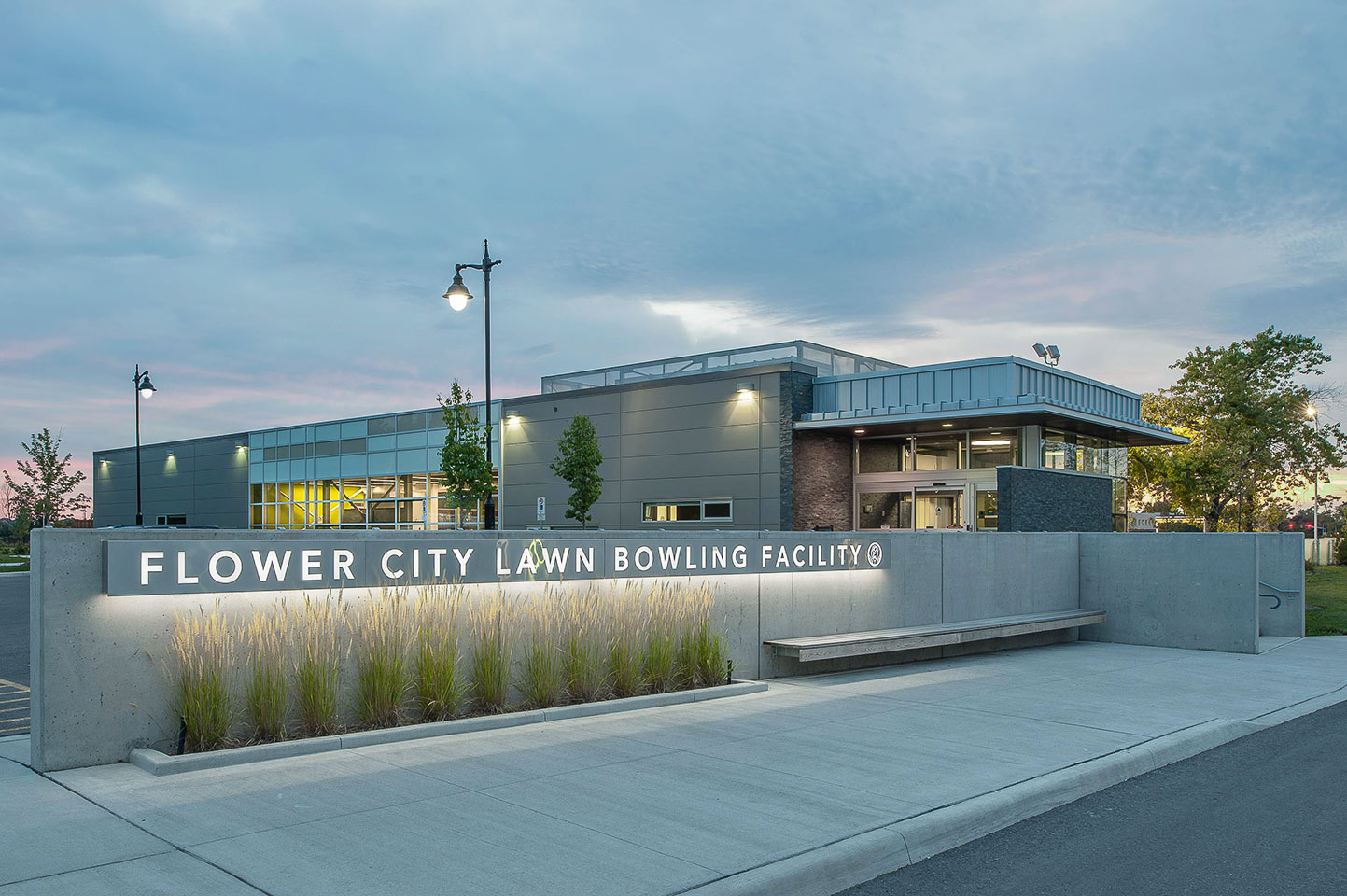 Flower City Lawn Bowling Facility, Brampton.
